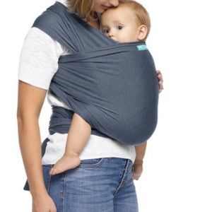 Moby blue baby carrier